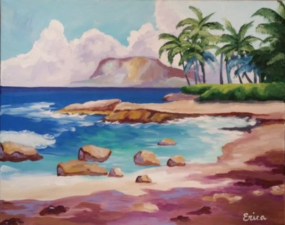 Leukemia Lymphoma Society Rocky Beach Painting Event