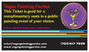 Vegas Painting Parties Gift Card