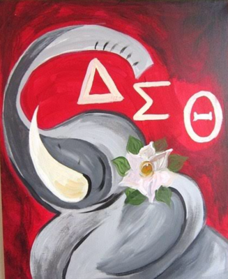 Delta Sigma Theta Private Party Vegas Painting Parties