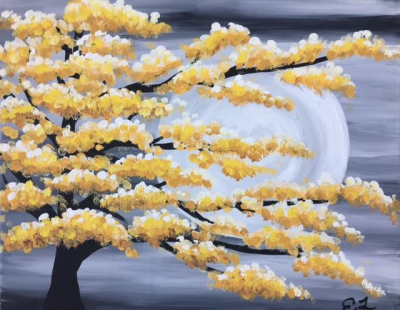 Colorful Blossom Tree Happy Hour Event / SOLD OUT