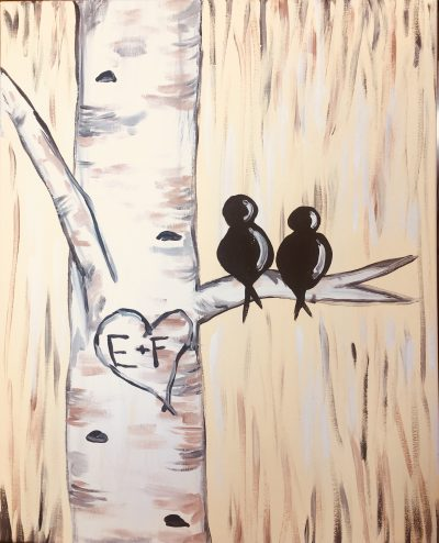 Ivory Lovebirds